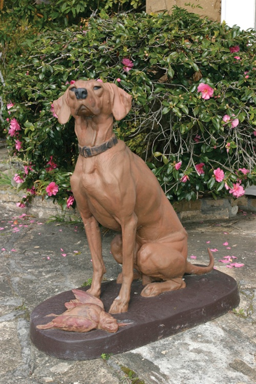 Hounds on guard as Crookes and Bunnys go under the Hammer - Antiques Reporter