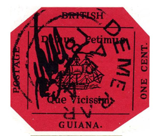 "A nondescript dirtily marked ""used"" octagonal magenta British Guiana 1 cent stamp of 1856 has continued its path of setting a new world record for a stamp on each of the three times it has been sold at auction, selling for $US9.01 million in New York yesterday. But Terry Ingram ponders whether the trophy market is under pressure judging by this and another transaction during the week."