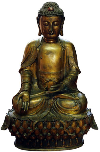 If a Lotus land is an idyllic place of contentment as it is sometimes defined, Lawson's must have whisked a Sydney North Shore vendor away there on August 14 when it auctioned a bronze Buddha figure on that consignors behalf, selling it for 130 times its high estimate at $797,745 including the 25 per cent buyers premium.