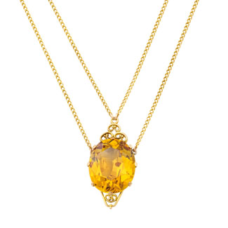 "Three high priced items should whet serious collector appetites at Sotheby's Australia forthcoming jewellery auction from 5.30pm Tuesday May 12 at 41 Exhibition Street, Melbourne. One is the extremely rare ""Willows"" 35.73-carat yellow sapphire pendant carrying a catalogue estimate of $100,000-$150,000."