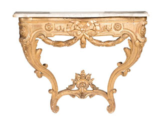 The individuality of items in Mossgreen's forthcoming Interior Decorator auction from 10.30am Monday May 11 at 926-930 High Street, Armadale is a great opportunity for collectors from all walks of life to obtain a piece of classic history. Right from Lot 1, an 18th century French Louis XV giltwood marble topped console table, collectors should be rubbing their hands in anticipation of some quality purchases.