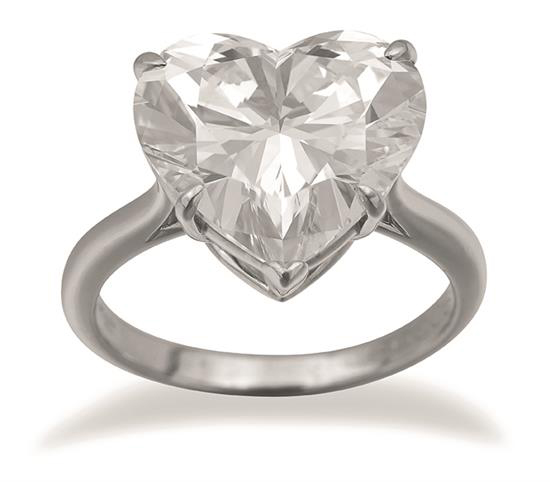 A 5.73 carat Tiffany & Co heart-shaped diamond ring – originally sold at auction by Leonard Joel in 1998 – is once again being offered by the company at its forthcoming jewellery auction from 6pm Monday September 14 at 333 Malvern Road, South Yarra.
