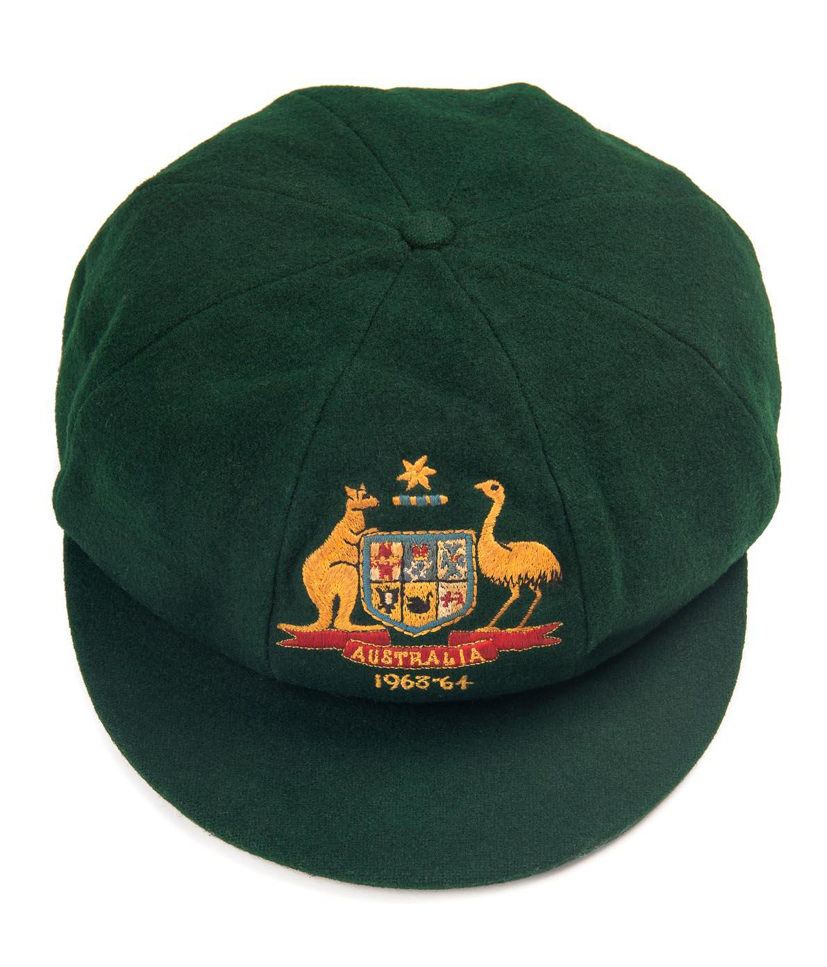 Demand for sporting memorabilia is stronger than ever and Mossgreen's first auction of this type for 2016 is a great example. To be held on February 8 at 926-930 High Street Armadale, the auction features the Australian baggy green Test caps from two former Australian captains – one belonging to the late Richie Benaud from his last Test series in 1963-64 against South Africa and the other to Ian Chappell from the 1973-74 series against New Zealand.
